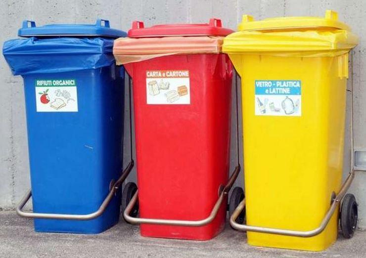 мусорные баки в Скалее